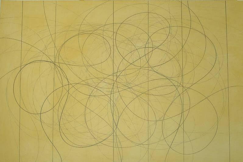 Doug Glovaski (LA), Untitled # 9 2006, graphite and wax on paper
