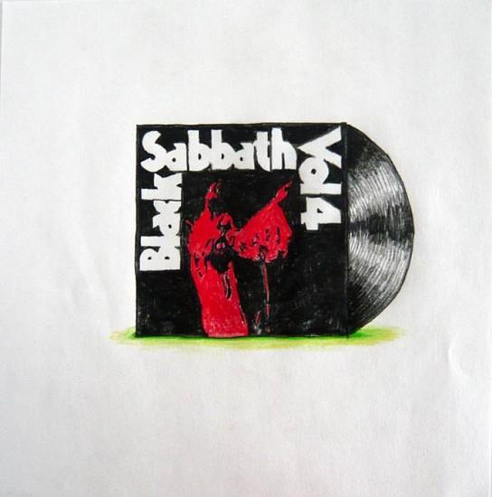 Eric Lebofsky, Black Sabbath 2011, colored pencil on paper