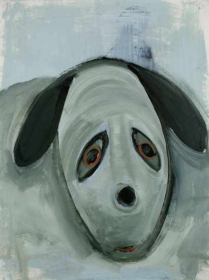 Kathryn Lynch, Big Dog 2012, oil on paper