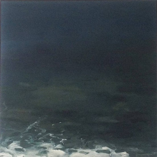 Peter Schroth, Ocean 8 oil on panel