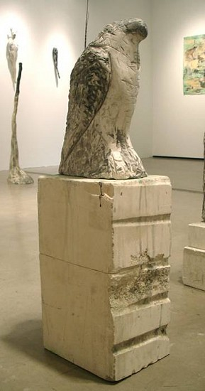 Jane Rosen, Amber 2007, provencal limestone and pigment