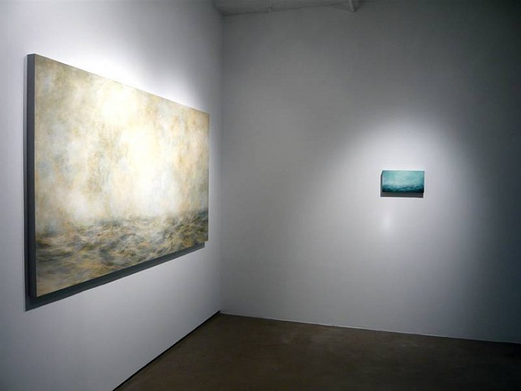 MaryBeth Thielhelm, Installation 2008, oil on panel