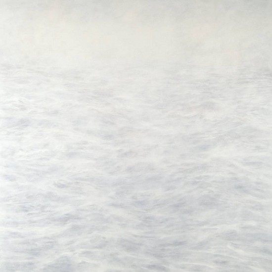 MaryBeth Thielhelm, White 0811 2011, oil on panel