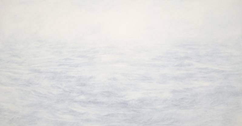 MaryBeth Thielhelm, White 1411 2011, oil on panel
