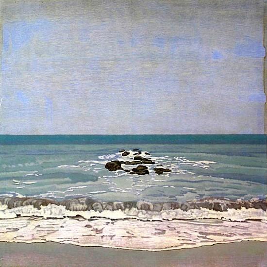 Clay Wagstaff (LA), Ocean No. 33 2011, oil on panel