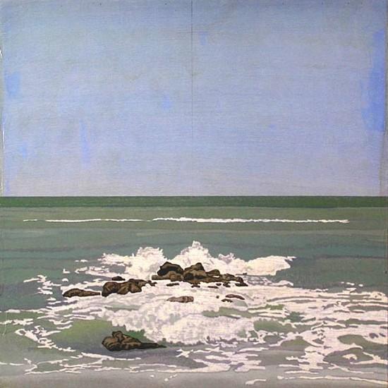 Clay Wagstaff (LA), Ocean No. 32 2011, oil on panel