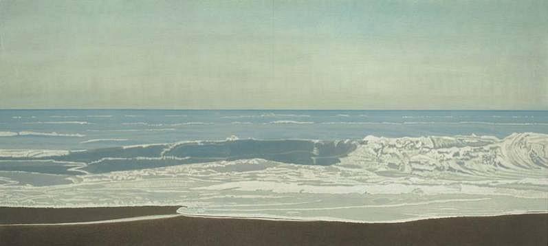 Clay Wagstaff (LA), Ocean No. 35 2012, oil on panel