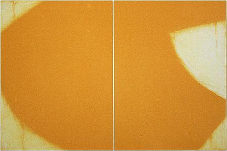Betty Merken (LA), Yellow Form, #03-10-03 2011, monotype