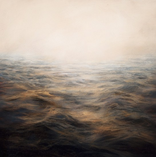 MaryBeth Thielhelm, Copper Sea 2012, oil on panel