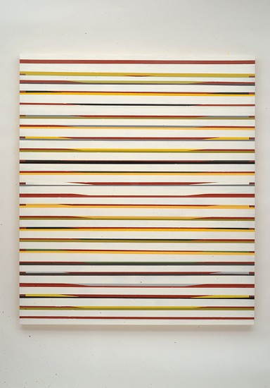 Andrew Zimmerman, Broken Ladder 2012, acrylic and oil on wood panel