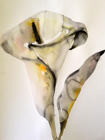 Kim McCarty (LA), Flower 2 2013, watercolor on paper