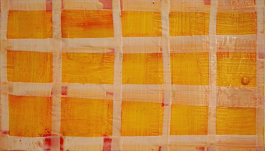 Don Maynard, White Grid 2013, encaustic
