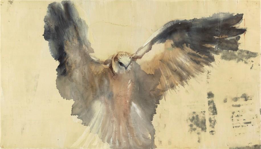 Jane Rosen (LA), White Kite, 13/20 2013, archival pigment print on German etching paper