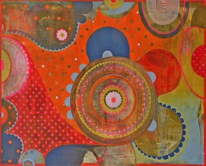 Julie Evans (LA), Underwhirl 2005, acrylic on panel