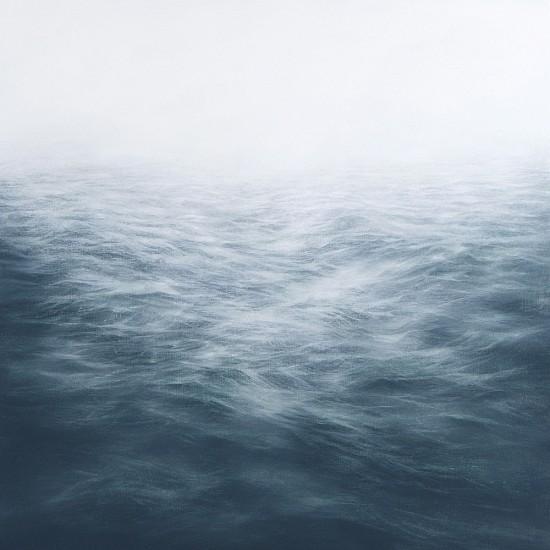 MaryBeth Thielhelm, Teal Sea 2014, oil on panel