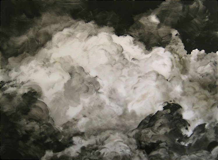Rick Shaefer, Untitled, Cloud #2 2014, acrylic on vellum