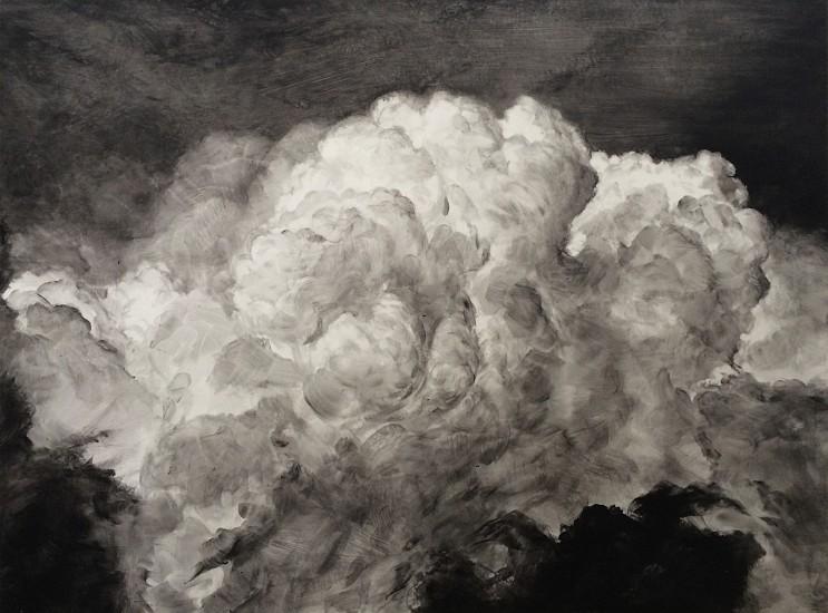 Rick Shaefer, Untitled, Cumulus 2014, acrylic on vellum