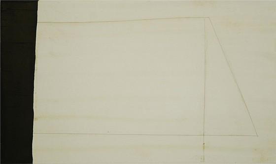 Don Maynard (LA), Banded Geometry 2011, encaustic