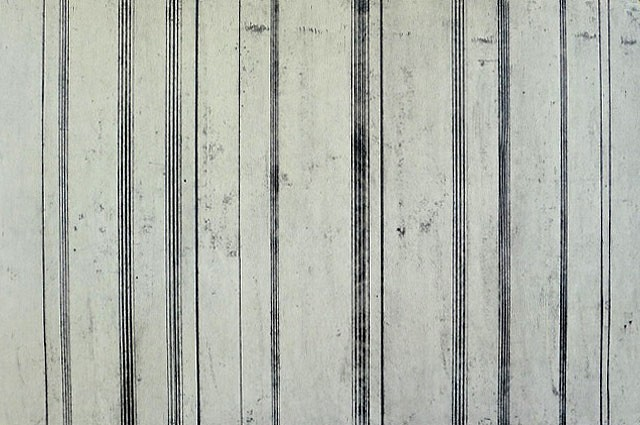 Doug Glovaski, Line Variation #6 charcoal, graphite, casein on paper