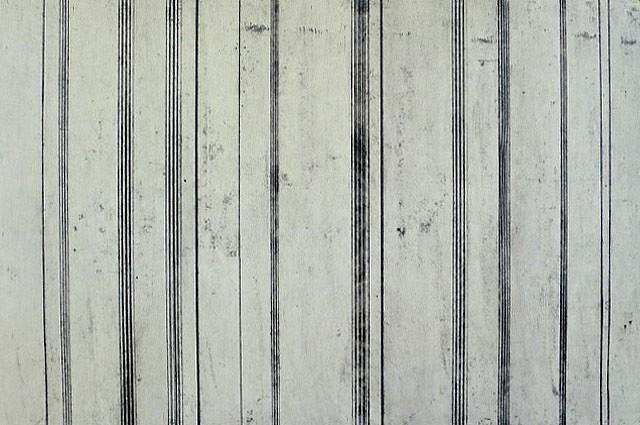 Doug Glovaski, Line Variation #6 charcoal, graphite, casein on paper