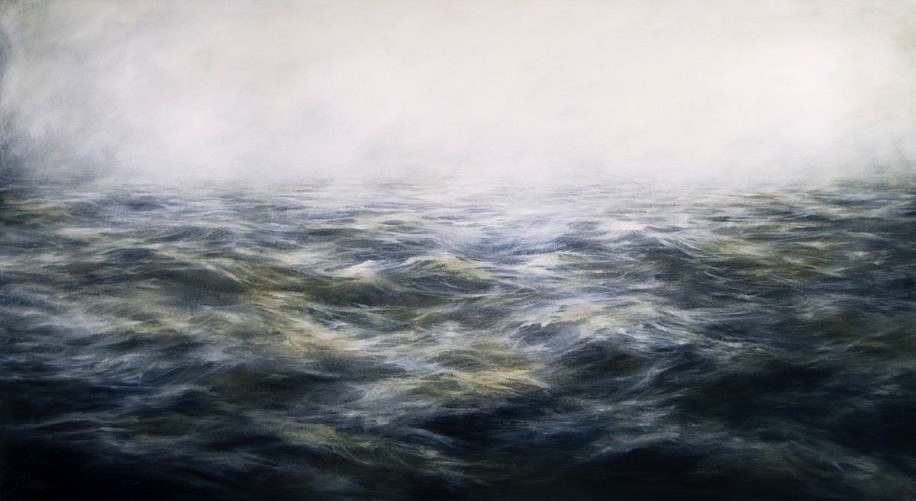 MaryBeth Thielhelm, Primordial Grey 2014, oil on panel