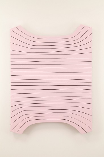 Andrew Zimmerman, Mary Kay 2015, wood panel with urethane paint