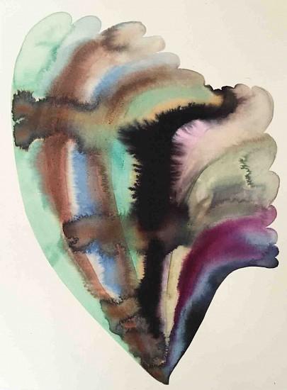 Lourdes Sanchez (Ink on silk), Merengue 1 2015, ink on silk