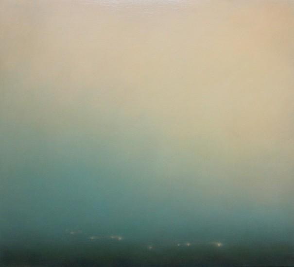 Michael Abrams (LA), Wandering Rill 2015, oil on panel