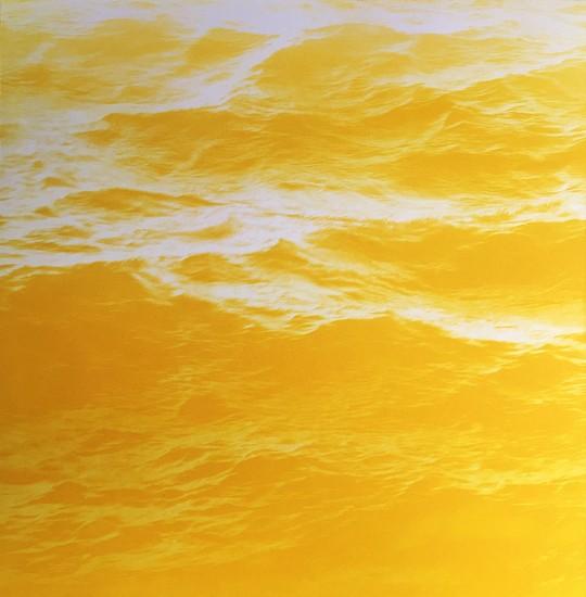 MaryBeth Thielhelm (LA), Yellow Sea 2015, solar etching