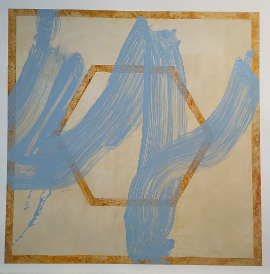Joseph Haske, Breath 1/7 2015, acrylic on canvas