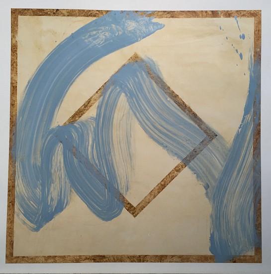 Joseph Haske, Breath 2/7 2015, acrylic on canvas
