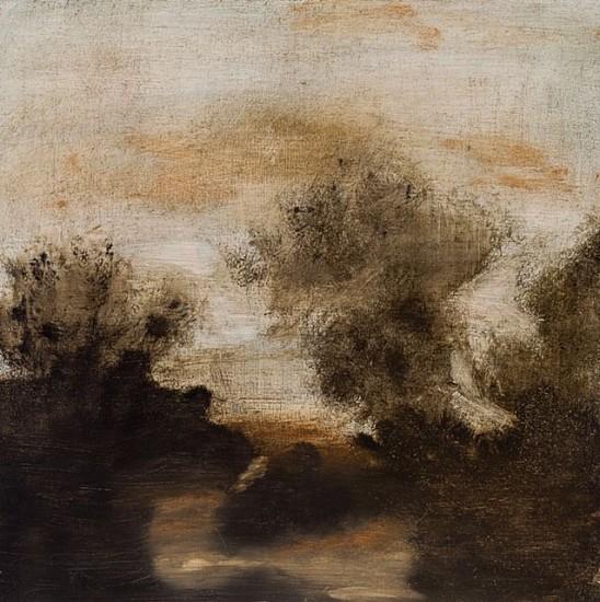 Poogy Bjerklie, Autumn Chant 2015, oil on panel