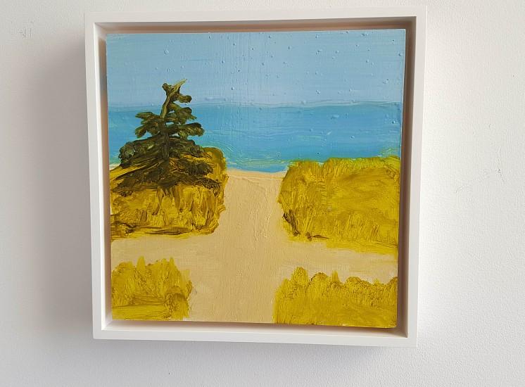 Kathryn Lynch, Beach 2015, oil on panel