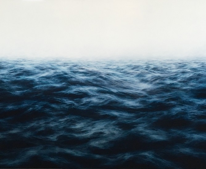 MaryBeth Thielhelm, Blue Sea 2016, oil on panel