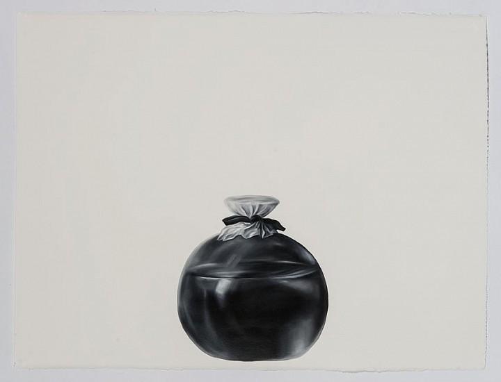 Shelley Reed (LA), Covered Bottle (after Salgado) 2016, oil on paper