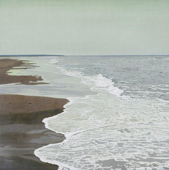 Clay Wagstaff, Ocean no. 68 2016, oil on paper