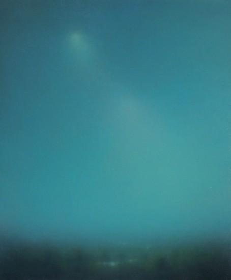 Michael Abrams (LA), Light Cascade 2016, oil on canvas
