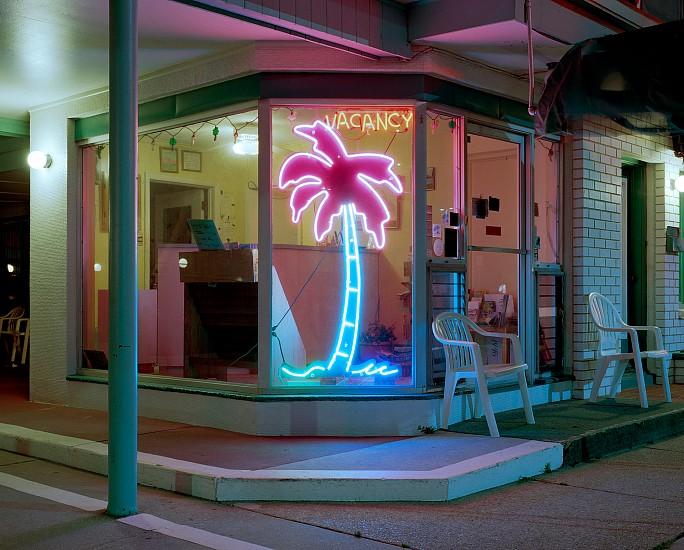 Tyler Haughey, Lu Fran Motel 2016, archival pigment print
