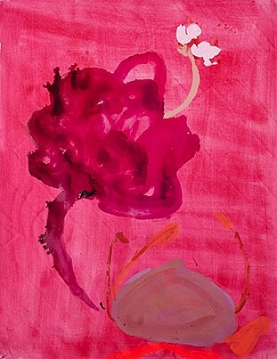 Patricia Iglesias (LA), Florecen 10 2015, mixed media on paper
