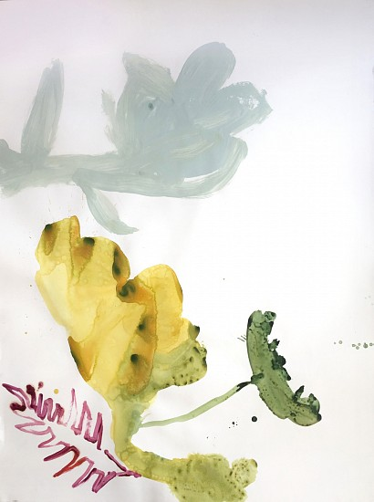 Patricia Iglesias, Florecen 16 2015, mixed media on paper