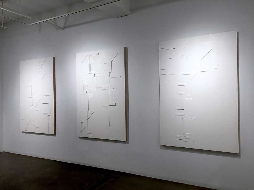Agnes Barley, Shadow Structures - Installation View