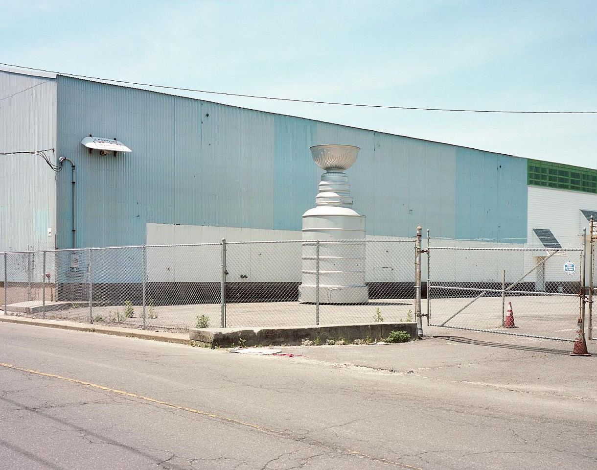 Tyler Haughey   A 30ft Replica of the Stanley Cup, West Windsor, NY , 2015  HAUGH017   archival pigment print, 32 x 40 inches, edition of 12 / 40 x 50 inches, edition of 9 / 56 x 70 inches, edition of 5