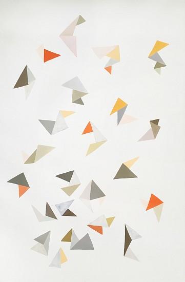 Jen Wink Hays, Asunder 2016, goauche on 300lb lanaquarelle paper