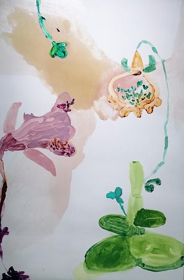 Patricia Iglesias, FLOR 31 2017, oil on canvas