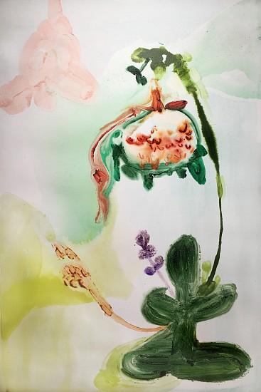Patricia Iglesias (LA), FLOR 30 2017, oil on canvas