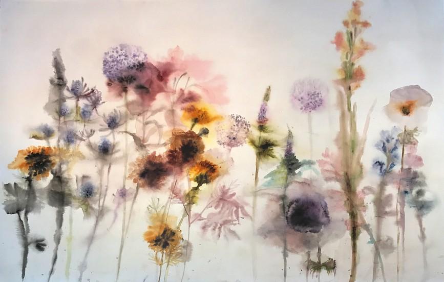 Lourdes Sanchez (Watercolor), Untitled 2017, watercolor on paper