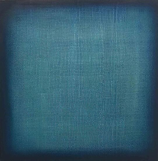 Karin Schaefer, Caldera Morning 2017, oil on panel
