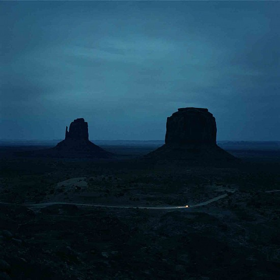 Jason Frank Rothenberg (LA), Monument Valley 2017, archival pigment print