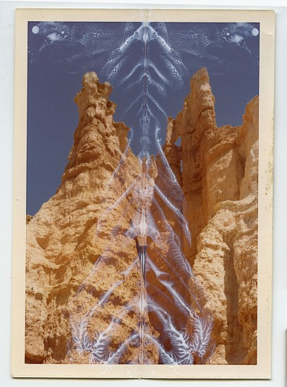 Randi Malkin Steinberger, Bryce Canyon 2015, vintage photograph and nail polish